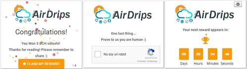 Widget de Airdrips