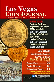 Las Vegas Coin Journal May 2018 Cover