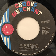 REUBEN WILSON:THE CISCO KID(LABEL SIDE-B)