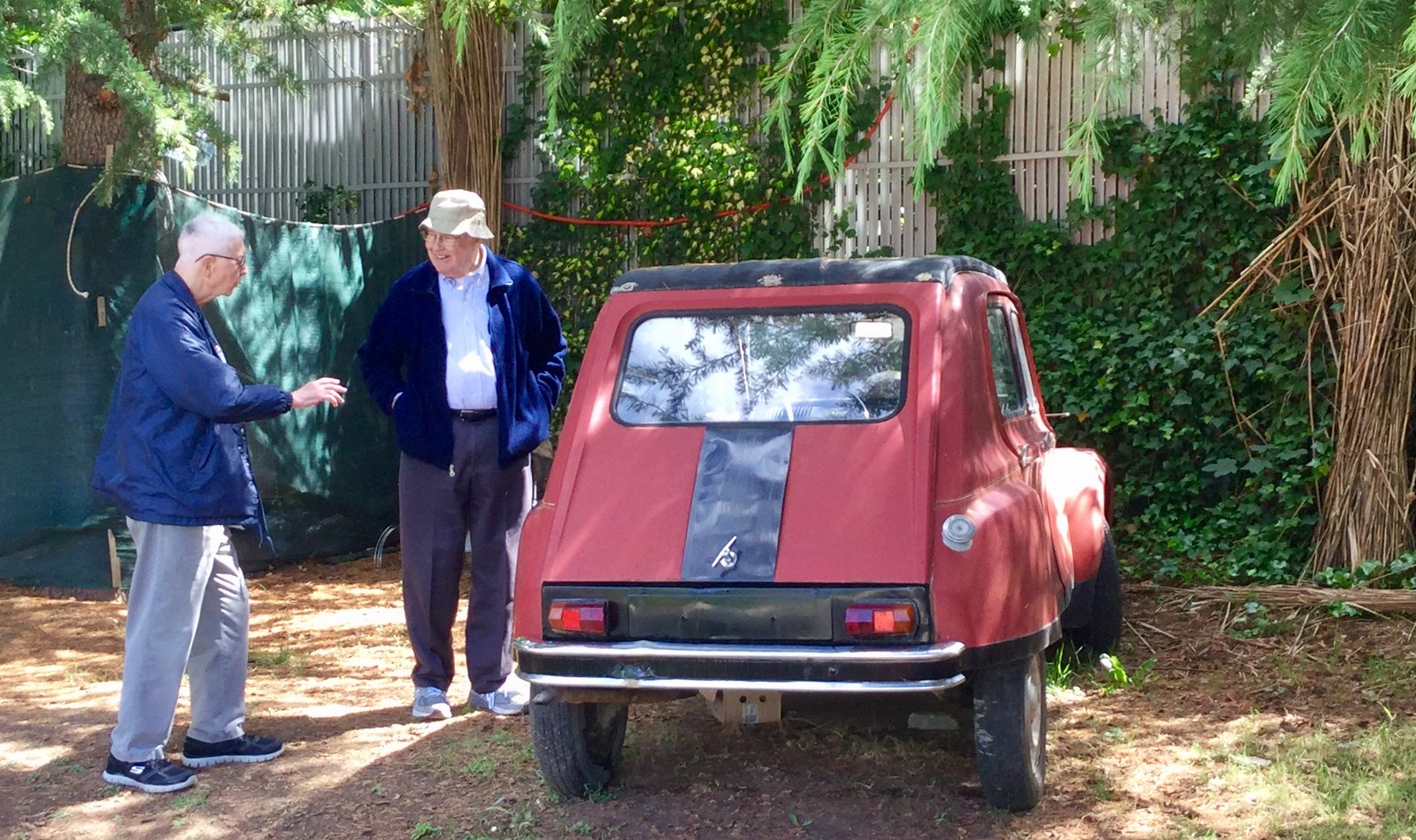 201705 - Balkans - Bob and Don and an Old Car - 61 of 95 - Nacionalen Park Galicica - Ohrid, Ohrid, May 28, 2017