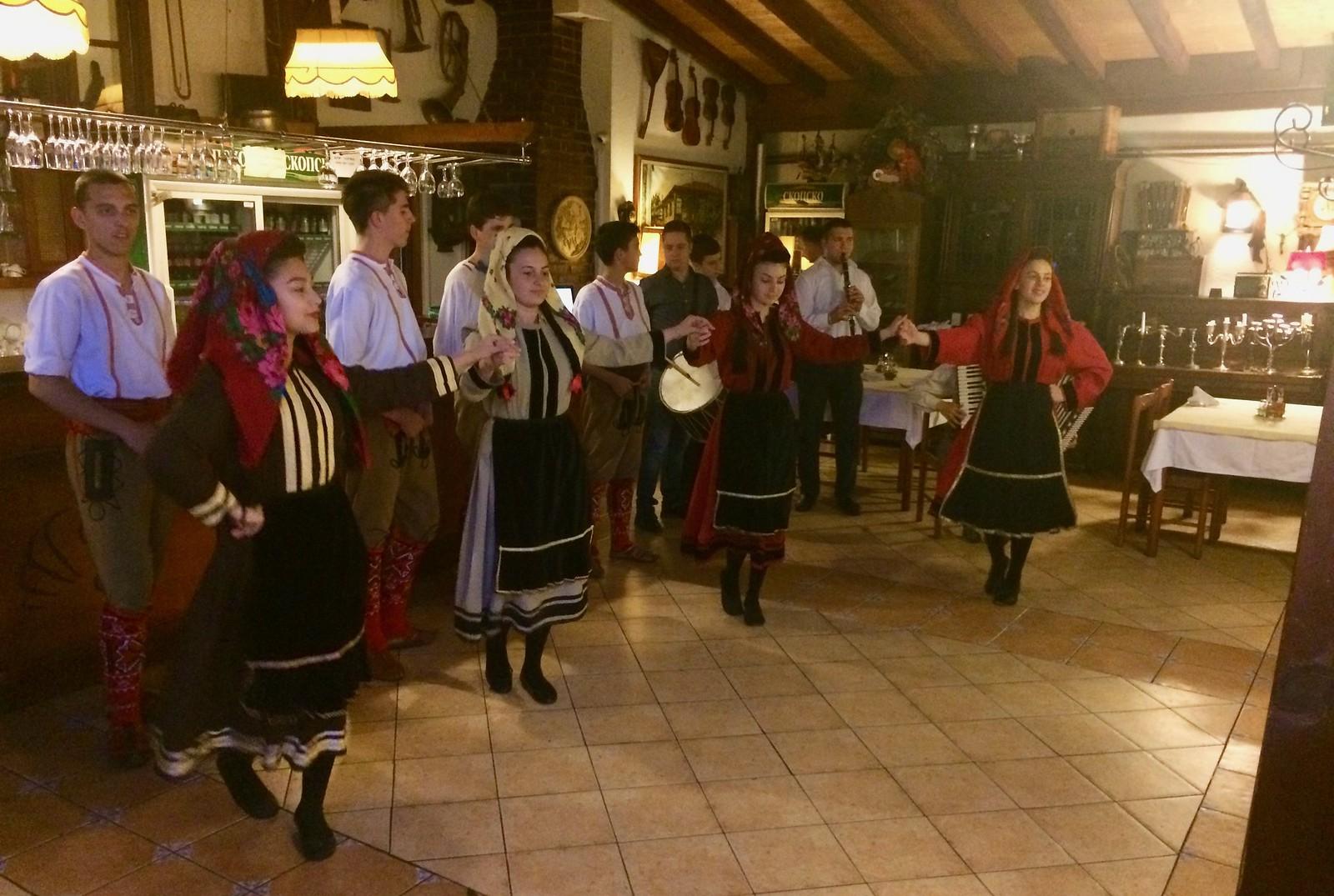 201705 - Balkans - Folk Dancing - Ohrid, Ohrid - Ulica Kuzman Josifovski Pitu, May 28, 2017