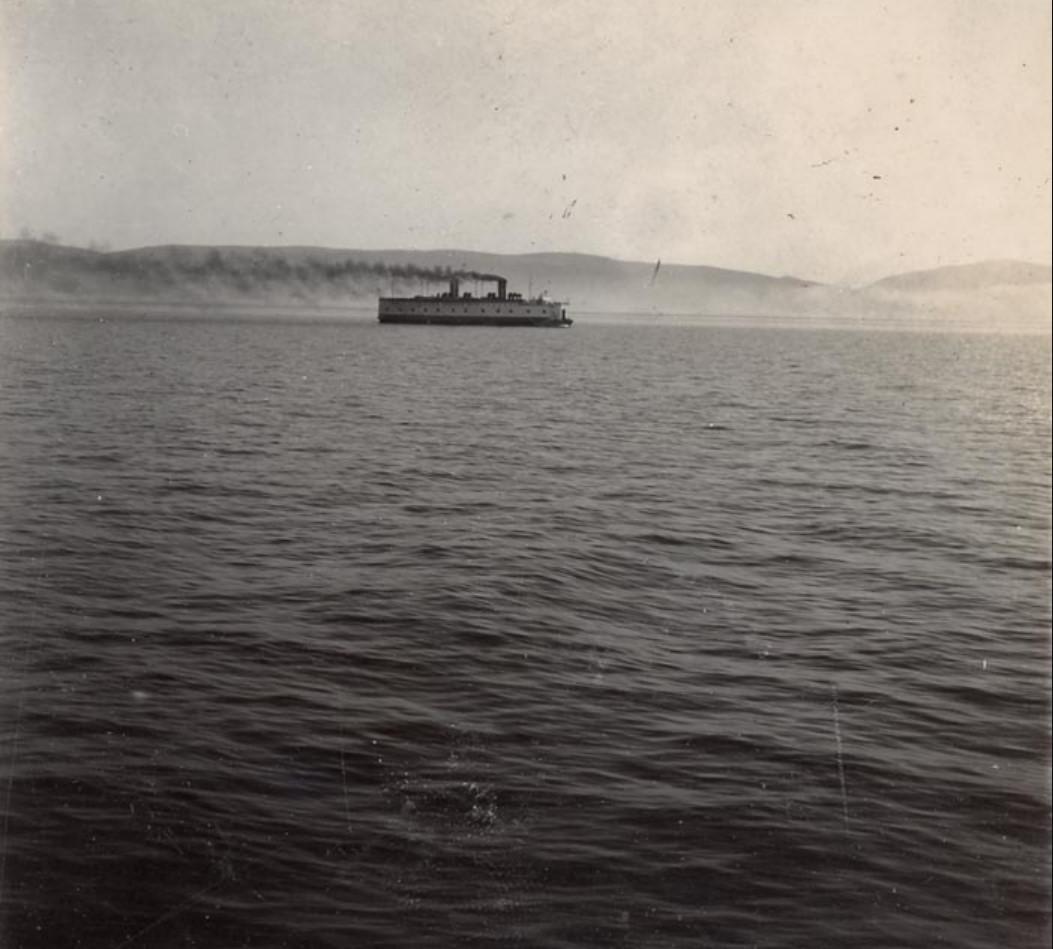 Паром-ледокол «Байкал» на Байкале