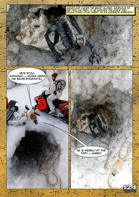Bamcomix - An old face returns - Chapter Seven - What Lies Beneath The Ice? 27912625688_bc7e8aa039_z