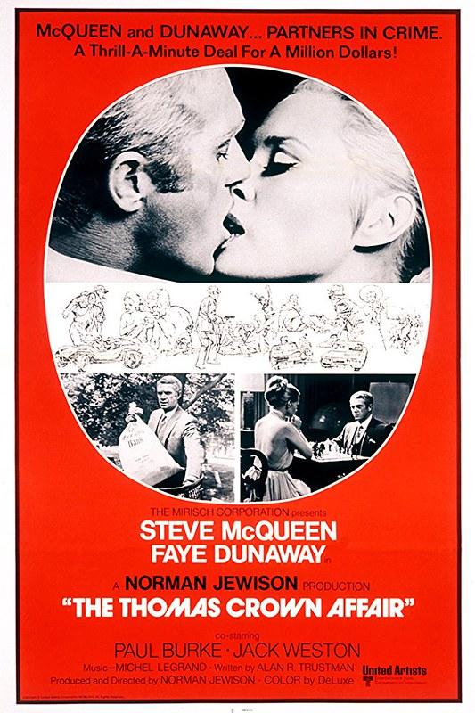 The Thomas Crown Affair - 1968 - Poster 1