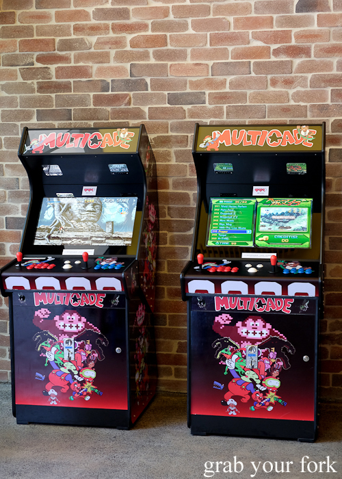 Multicade machines at 8bit at Steam Mill Lane Sydney