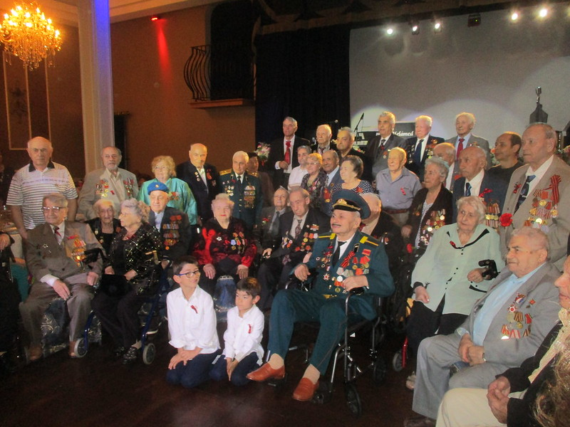 Veterans and survivors group picture
