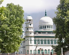 Mosque on the road
