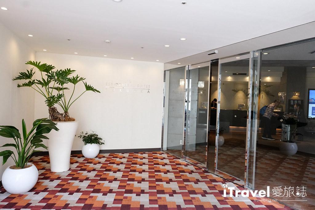 福冈饭店推荐 The Residential Suites Fukuoka (3)