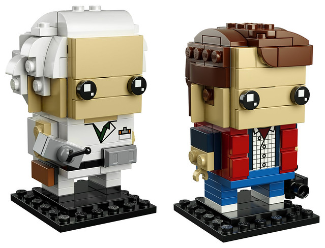 41611 - Marty McFly & Doc Brown Brickheadz