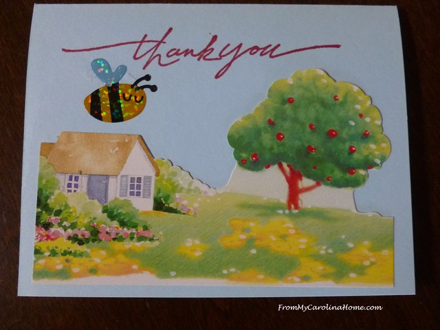 Recycle Thank You Card at From My Carolina Home
