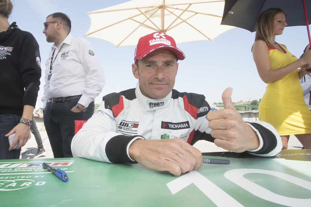 MORBIDELLI Gianni (ITA), Team Mulsanne, Alfa Romeo Giulietta TCR, portrait during the 2018 FIA WTCR World Touring Car cup, Race of Hungary at hungaroring, Budapest from april 27 to 29 - Photo Gregory Lenormand / DPPI