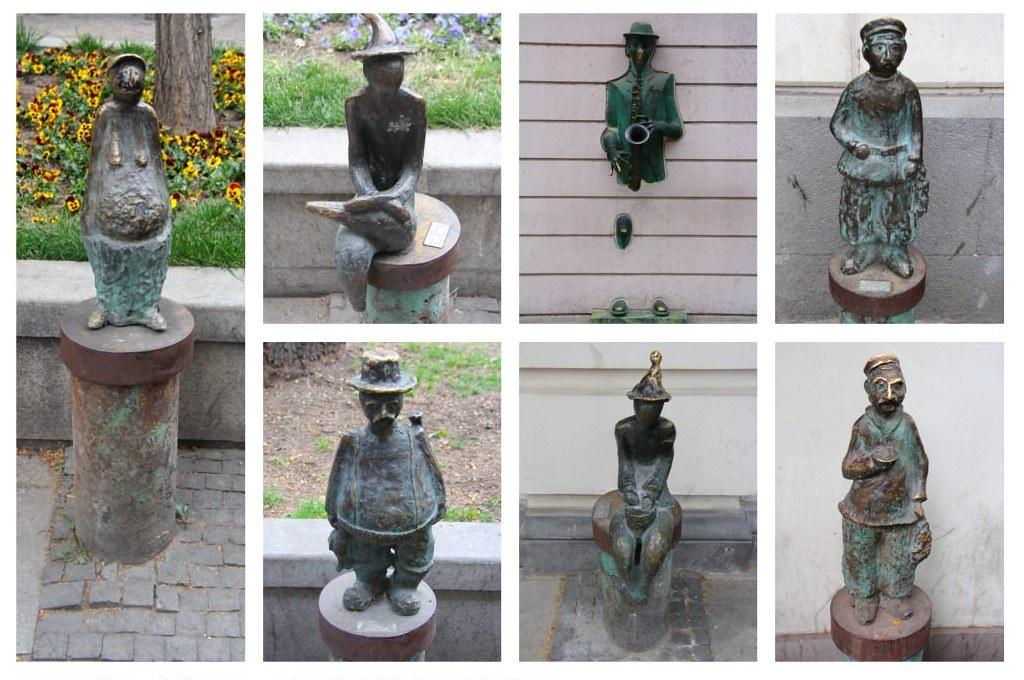 Тбилиси, часть третья - прекрасные скульптуры проспекта Руставели