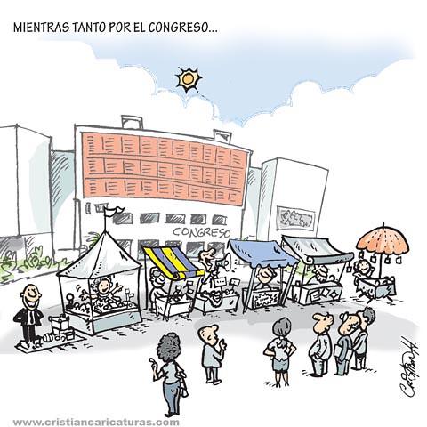Allá por el congreso