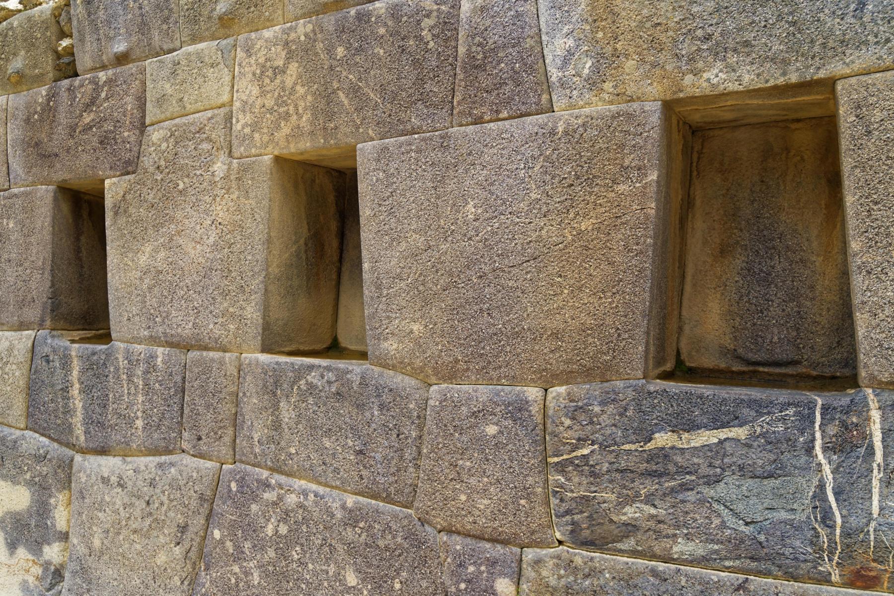 Ollantaytambo - Inca niches