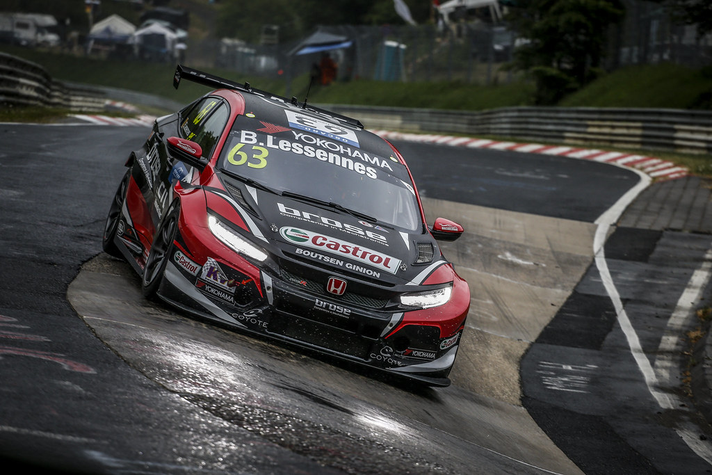 63 LESSENNES Benjamin (BEL), Boutsen Ginion Racing, Honda Civic TCR, action during the 2018 FIA WTCR World Touring Car cup of Nurburgring, Germany from May 10 to 12 - Photo Clement Marin / DPPI