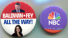 "Baldwin-Fey ""Campaign"", and NBC Tour Pins"