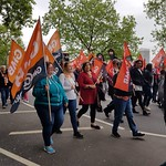 TUC Demo London 12 May 2018