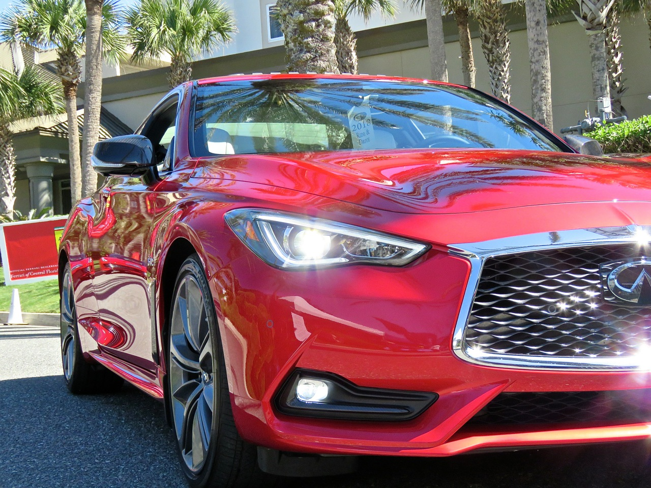 Infiniti Q60 Red Sport 400 AWD Review 3