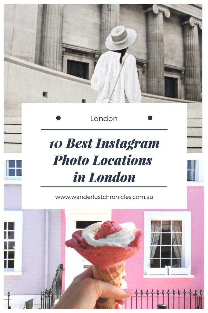 Instagrammable Photo Locations in London-min