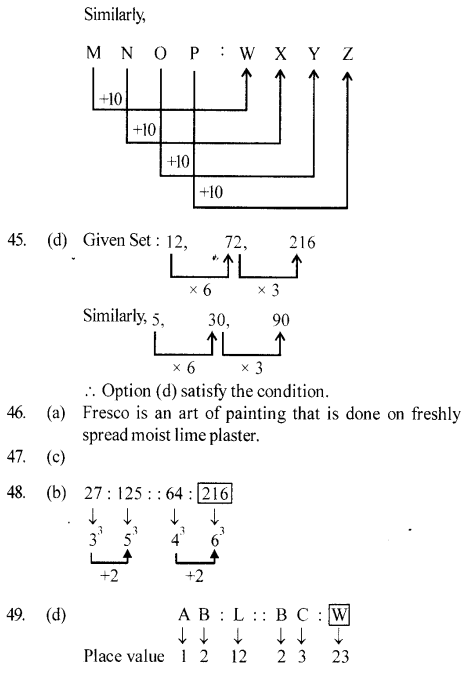 ssc-reasoning-solved-papers-analogy - 13