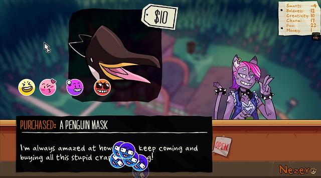 Monster Prom - The Penguin Mask