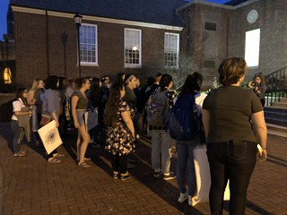 "Students ""Take Back the Night"" with poetry, marching and safe spaces for conversation"