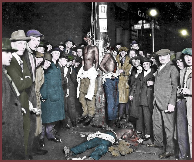 Lynching Postcard from Duluth