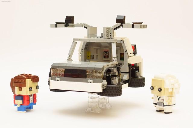 DeLorean LEGO BrickHeadz Retour vers le Futur