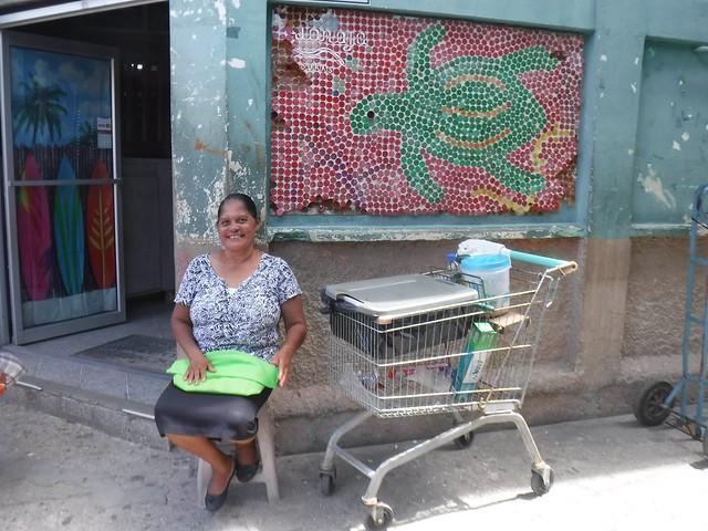 Casa Sicaffy Storefront, Empanadas for Sale, Bonacca