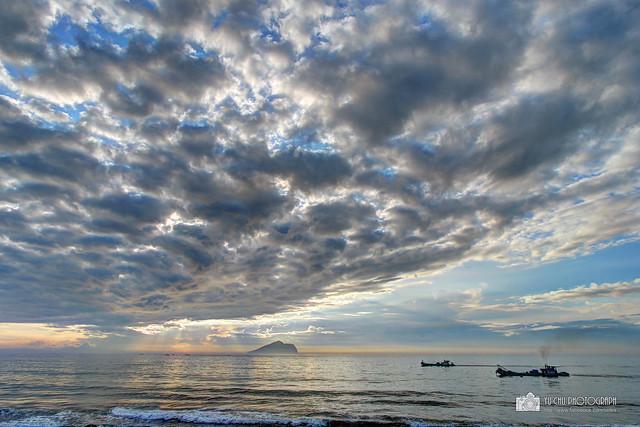 龜山島日出