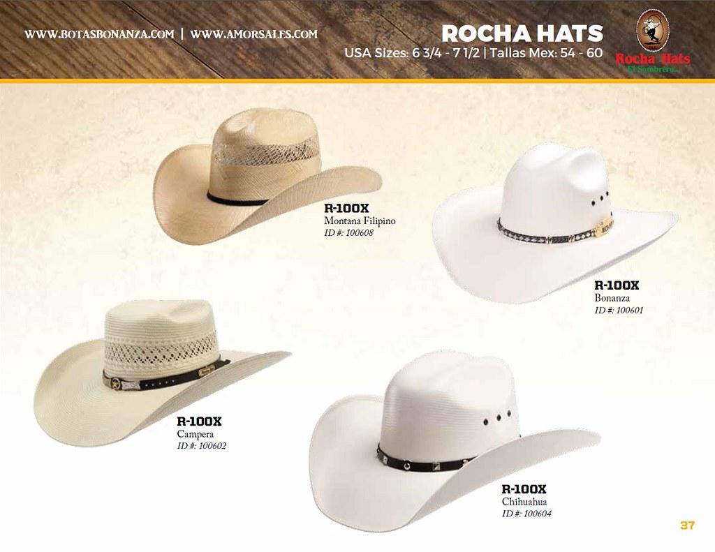 fa06e05ad3a8f Catalogo amor sales bonanza western boots vol botas vaqueras page jpg  1024x791 Sombreros rocha hats