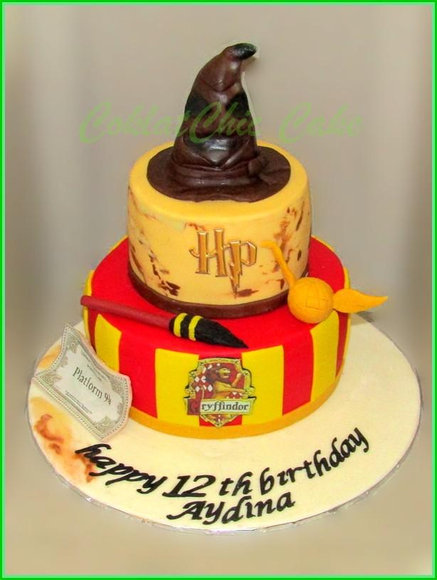 Cake Harry Poter AYDINA 15 cm dan 12 cm