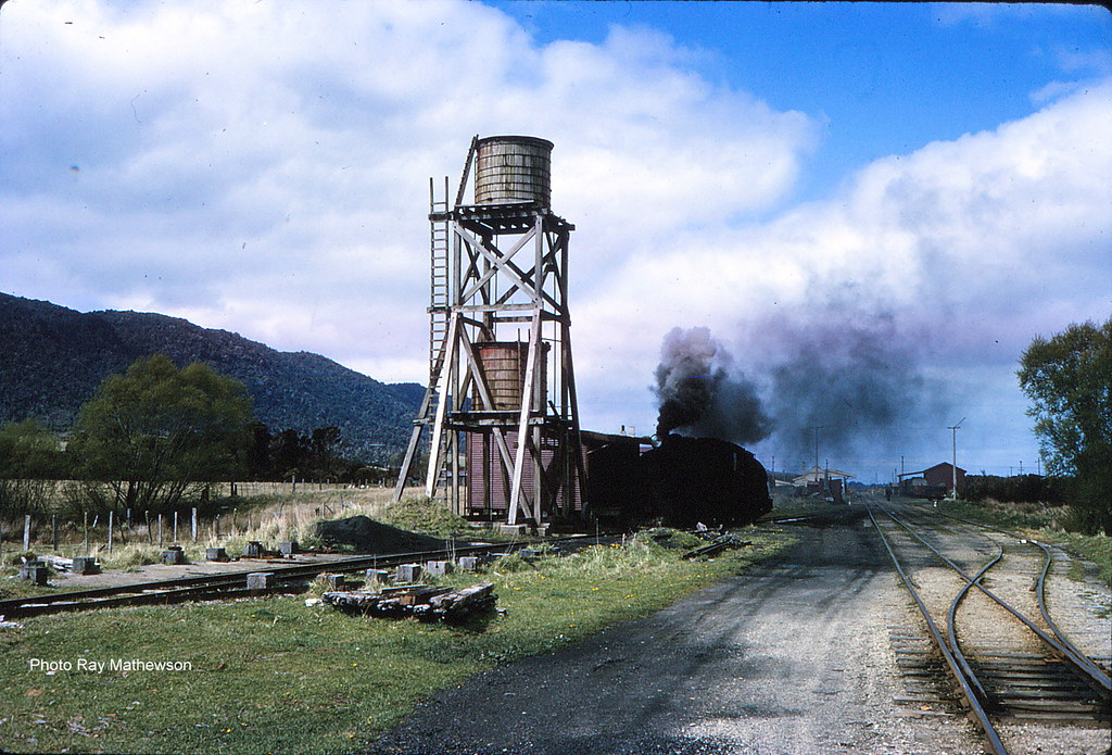 Tahakopa yards about 1968