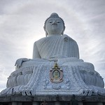 Phuket Big Buddha görüntü. buddha buddhist religion phuket thailand big stone granite tile thailandia hill halo