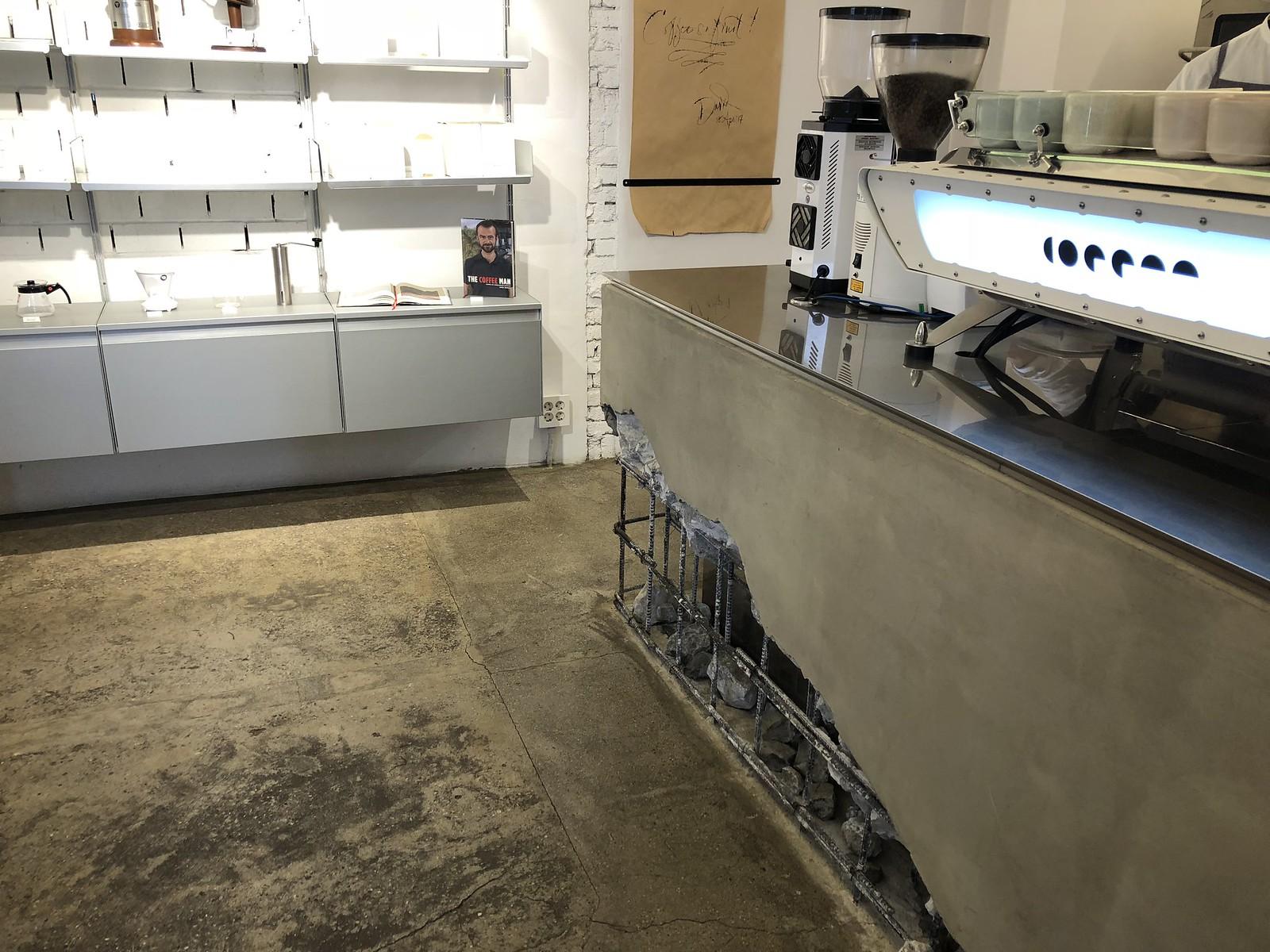 센터커피의 에스프레소 머신