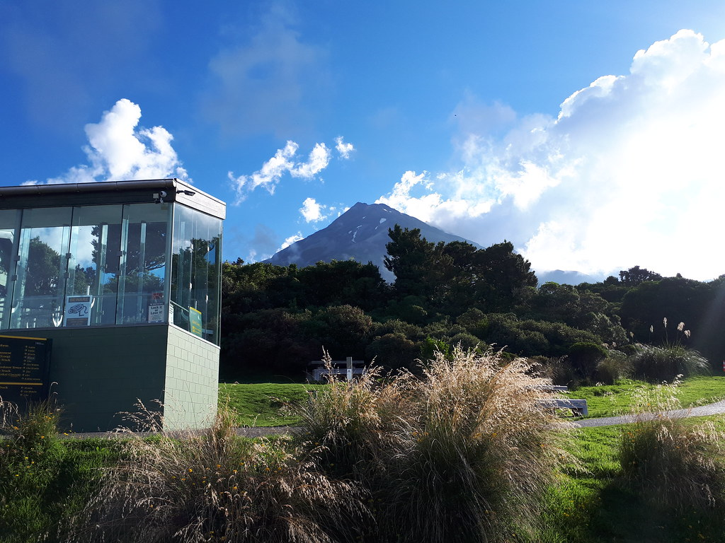 Mount Taranaki from North Egmont visitor centre
