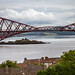 The Forth railway cantilever bridge, opened 1890