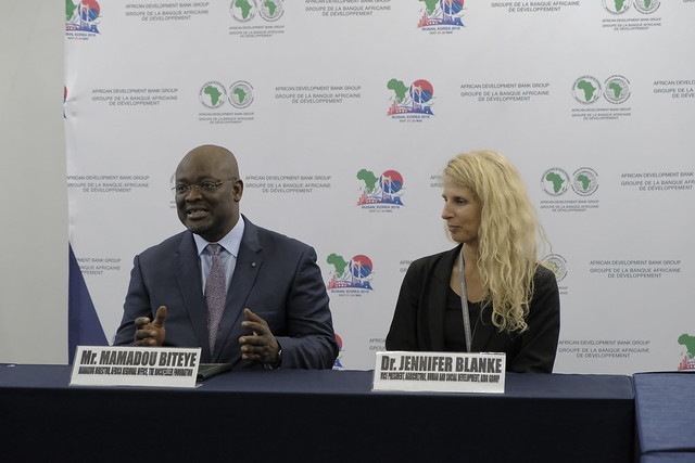 Busan AfDB Annual Meetings Day 1 - MOU Signing Between AfDB and The Rockefeller Foundation