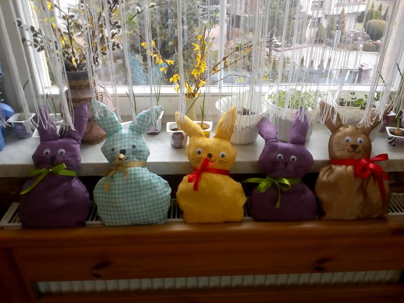 Wielkanoc  i  Zając-  gr.  Misie i  Lale