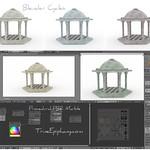 Gazebo Blender 3D