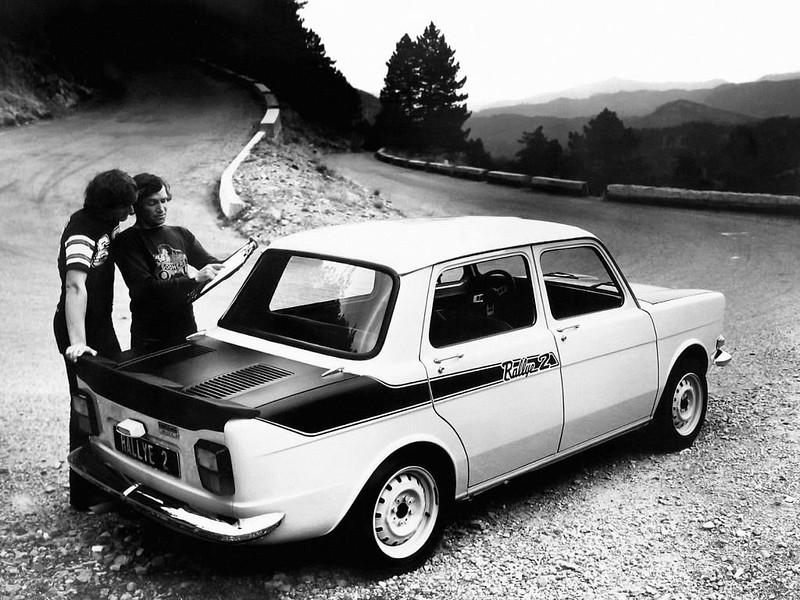 Simca 1000 ралли 2 (1976)