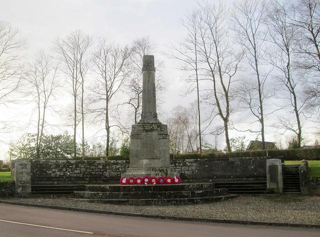 Kilmadock Parish, Doune, War Memorial 1