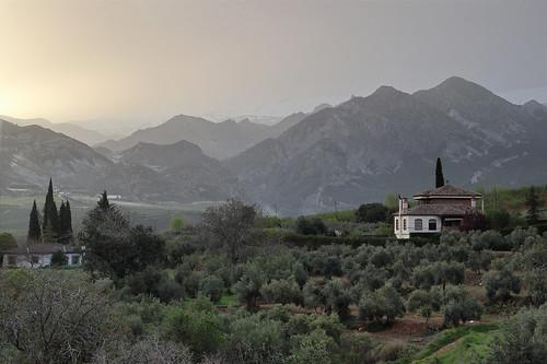 Sierra Nevada from  Hotel Zerbinetta