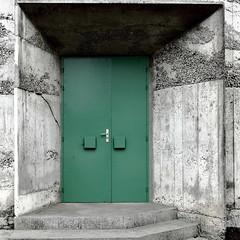 Trois idées de porte II/III : la porte fermée...