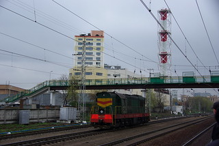 RZD ChME3-2336, Kuntsevo station