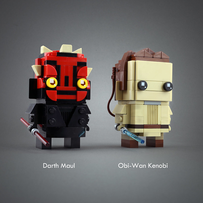 [MOC分享] Star Wars Brickheadz