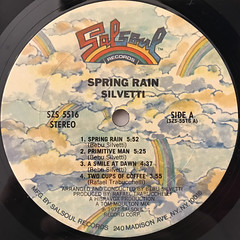 SILVETTI:SPRING RAIN(LABEL SIDE-A)