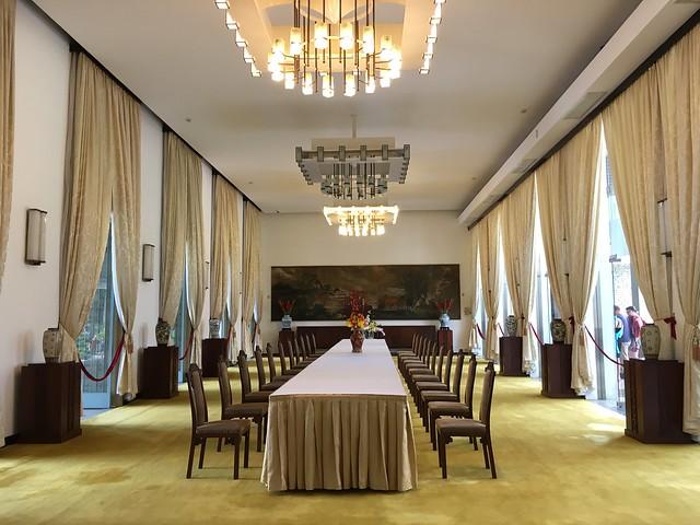 統一会堂の会議室?