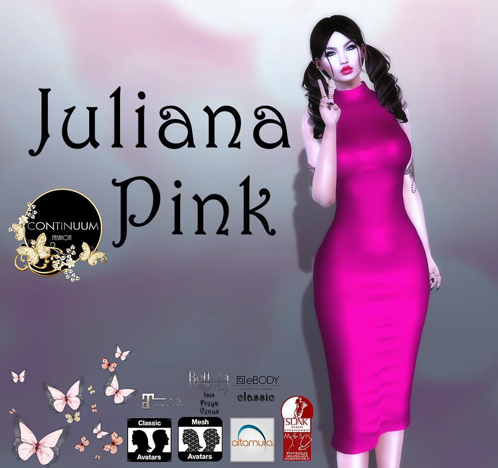 Continuum Juliana Pink _GIFT - TeleportHub.com Live!