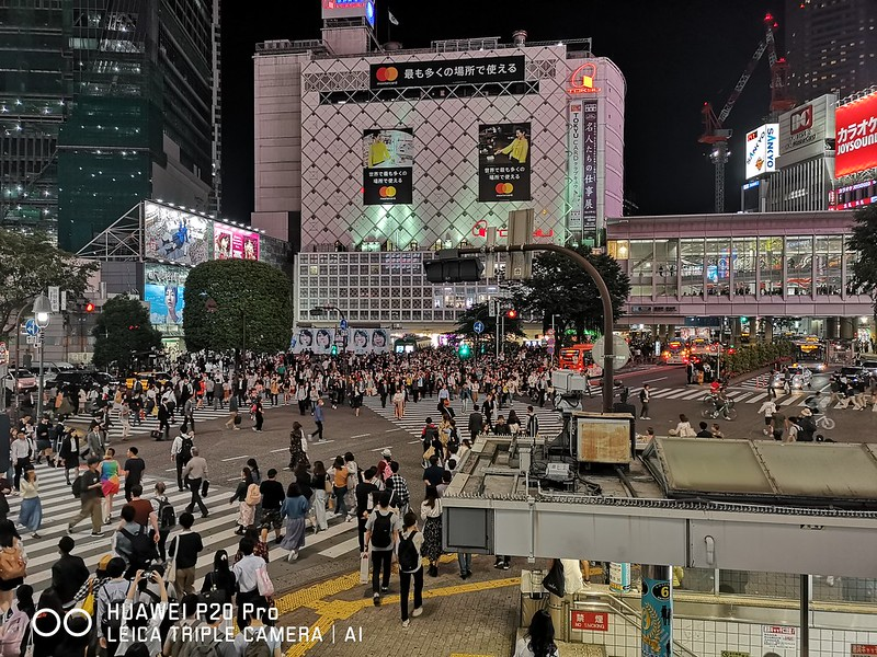 Huawei P20 Pro - Photo Mode - Shibuya Crossing